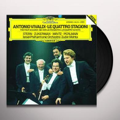 VIVALDI / ZUKERMAN / STERN / MINTZ / PERLMAN FOUR SEASONS / MOZART Vinyl Record - Limited Edition