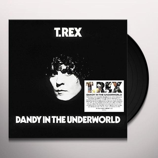 T-Rex DANDY IN THE UNDERWORLD Vinyl Record - UK Import