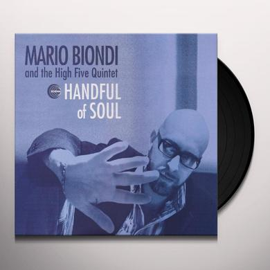 Mario Biondi HANDFUL OF SOUL Vinyl Record - Italy Import