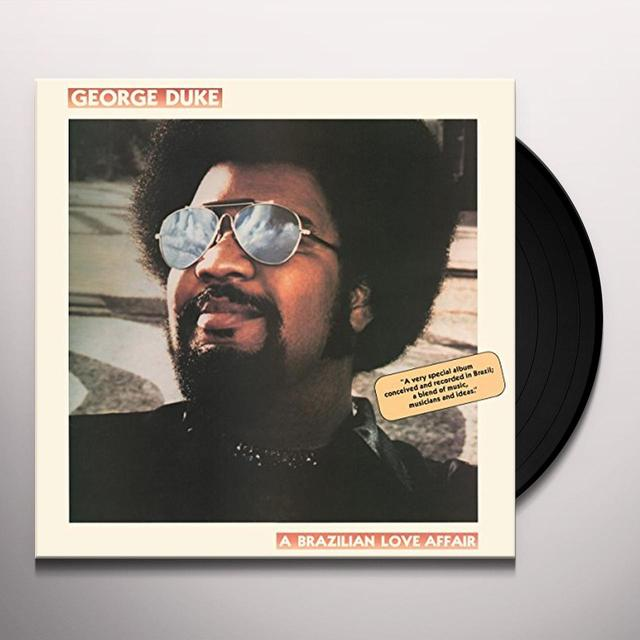 George Duke BRAZILIAN LOVE AFFAIR Vinyl Record - Holland Import