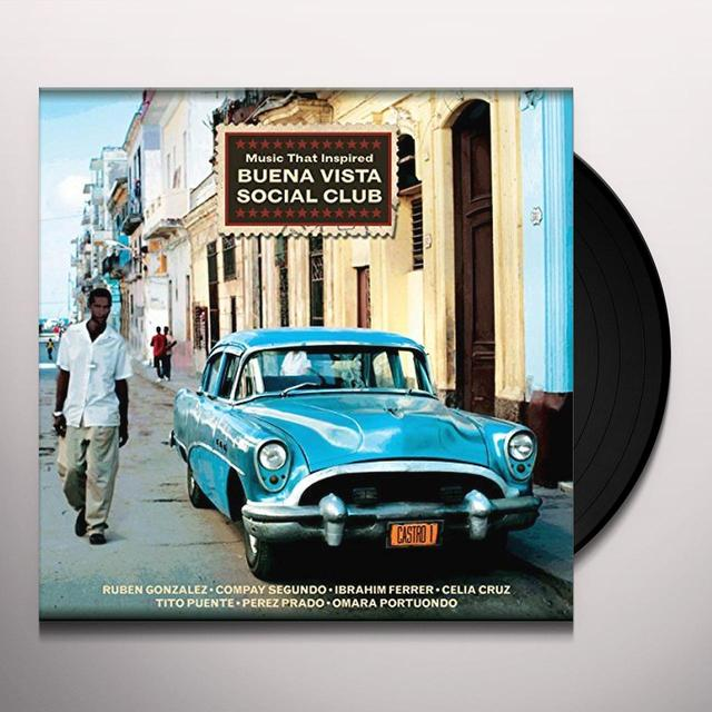 MUSIC THAT INSPIRED BUENA VISTA / VARIOUS (UK) MUSIC THAT INSPIRED BUENA VISTA / VARIOUS Vinyl Record - UK Import