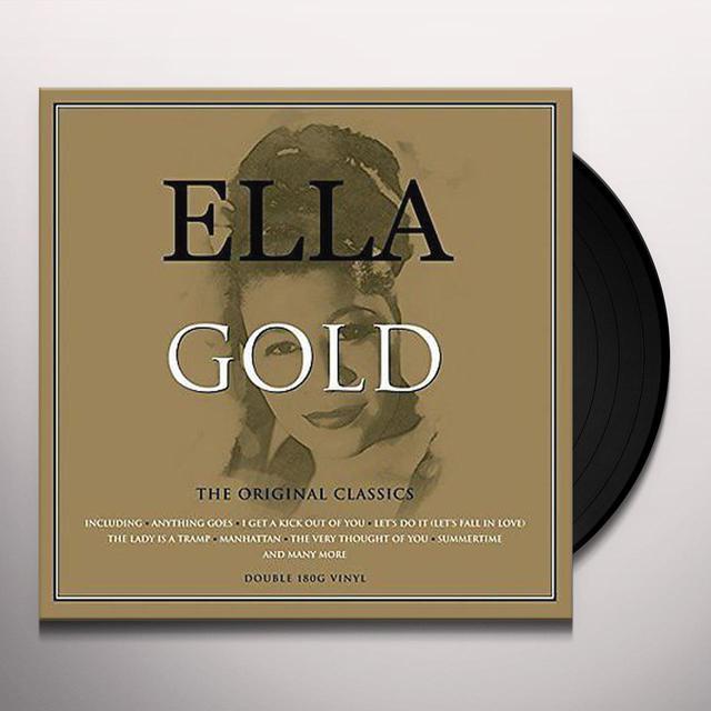 Ella Fitzgerald GOLD Vinyl Record