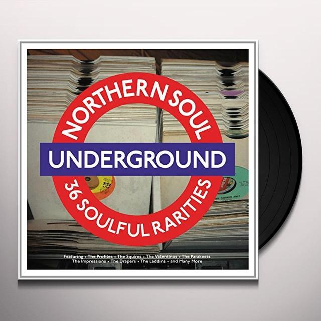 UNDERGROUND 36 SOULFUL RARITIES / VARIOUS (UK) UNDERGROUND 36 SOULFUL RARITIES / VARIOUS Vinyl Record - UK Release