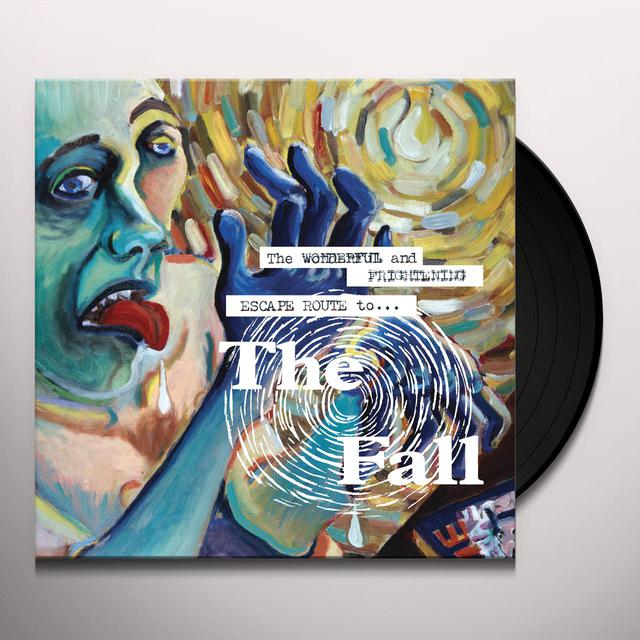 WONDERFUL & FRIGHTENING ESCAPE ROUTE TO THE FALL Vinyl Record