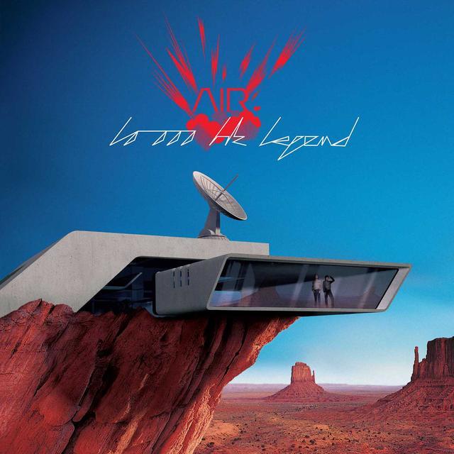 Air 10,000 HZ LEGEND Vinyl Record