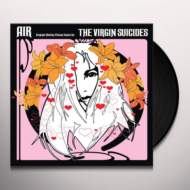Air VIRGIN SUICIDES Vinyl Record - 180 Gram Pressing