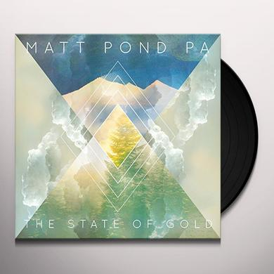 Matt Pond Pa STATE OF GOLD Vinyl Record - Gatefold Sleeve
