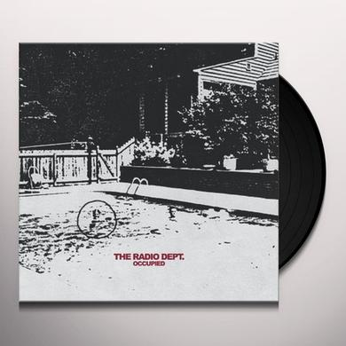 The Radio Dept. OCCUPIED Vinyl Record - Limited Edition