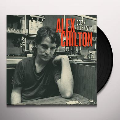 Alex Chilton LIVE AT THE OCEAN CLUB '77 Vinyl Record