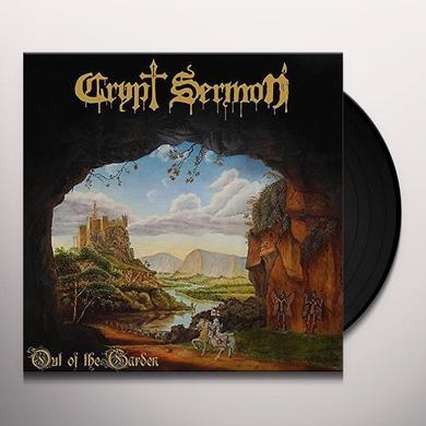 CRYPT SERMON OUT OF THE GARDEN Vinyl Record