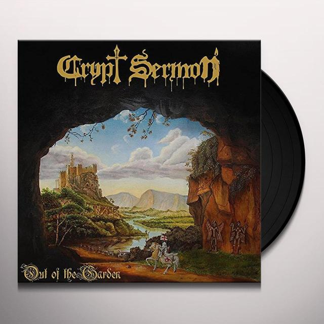 CRYPT SERMON OUT OF THE GARDEN Vinyl Record