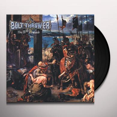 Bolt Thrower IVTH CRUSADE Vinyl Record - Reissue