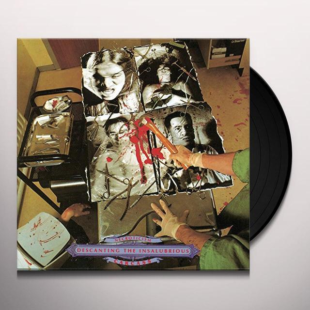 Carcass NECROTICISM: DESCANTING THE INSALUBRIOUS Vinyl Record