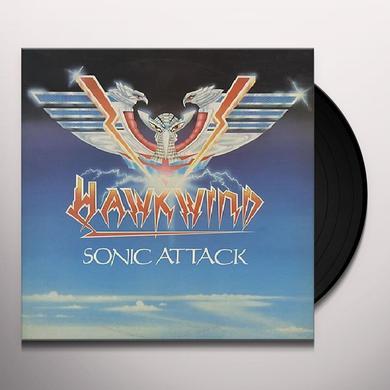 Hawkwind SONIC ATTACK Vinyl Record - Gatefold Sleeve