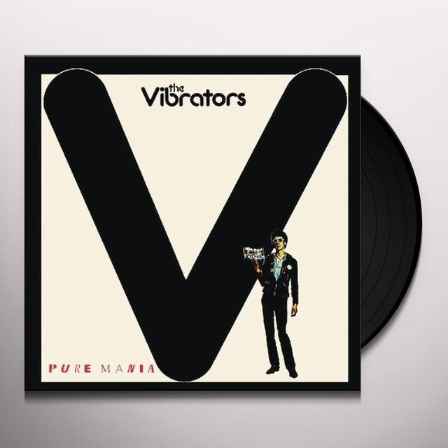 The Vibrators PURE MANIA Vinyl Record