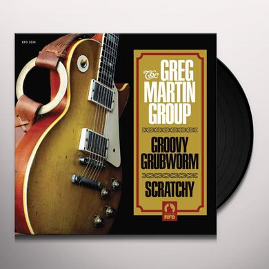 Greg Martin GROOVY GRUBWORM / SCRATCHY Vinyl Record