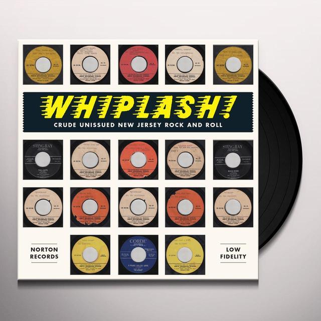 WHIPLASH-CRUDE UNISSUED NEW JERSEY ROCK & / VAR Vinyl Record