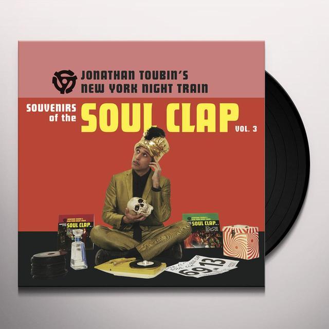 SOUVENIRS OF THE SOUL CLAP 3 / VARIOUS Vinyl Record