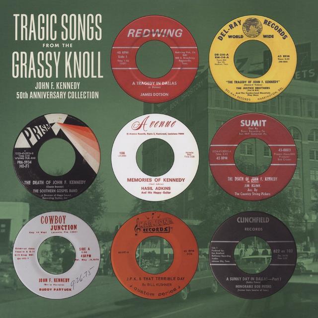 TRAGIC SONGS FROM THE GRASSY KNOLL: JFK / VAR Vinyl Record