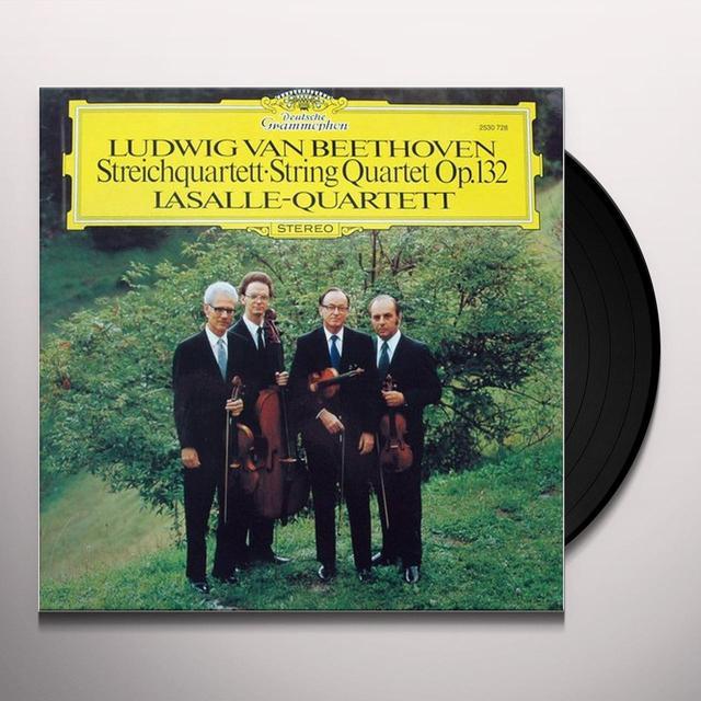 LASALLE QUARTET BEETHOVEN: STRING QUARTET OP. 132 Vinyl Record