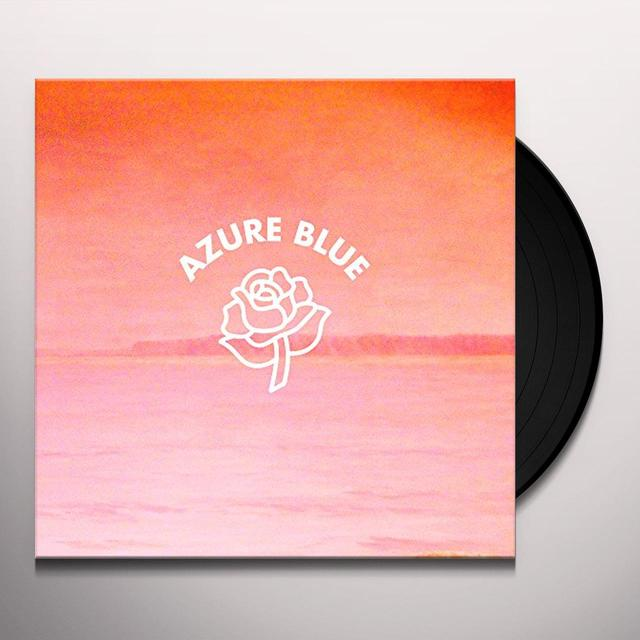 Azure Blue BENEATH THE HILL I SMELL THE SEA Vinyl Record