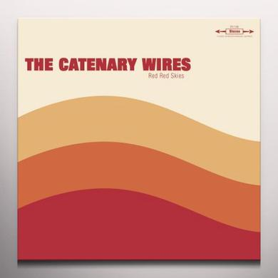 CATENARY WIRES RED RED SKIES Vinyl Record - 10 Inch Single, Clear Vinyl, Limited Edition, Digital Download Included
