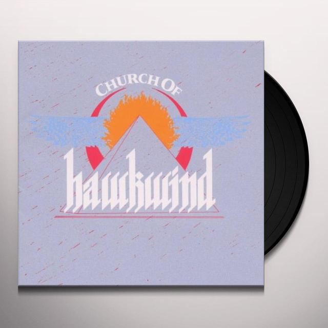 CHURCH OF HAWKWIND Vinyl Record - Gatefold Sleeve