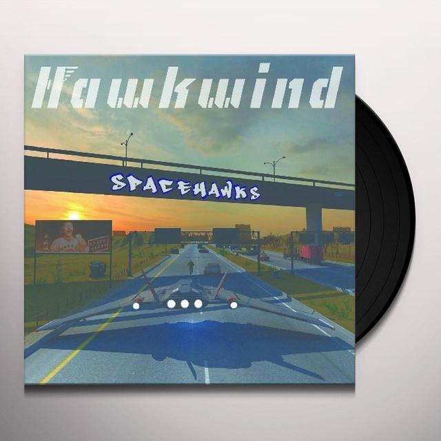 Hawkwind SPACEHAWKS Vinyl Record - Gatefold Sleeve