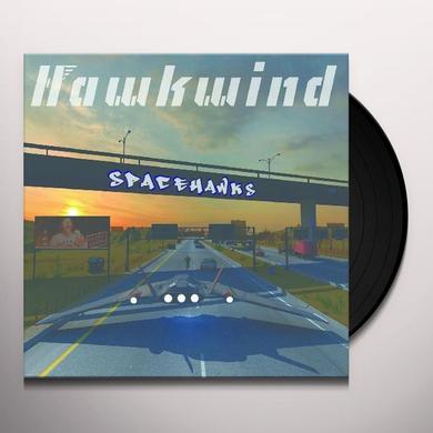 Hawkwind SPACEHAWKS Vinyl Record - Gatefold Sleeve