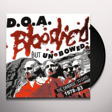 Doa BLOODIED BUT UNBOWED Vinyl Record - Gatefold Sleeve