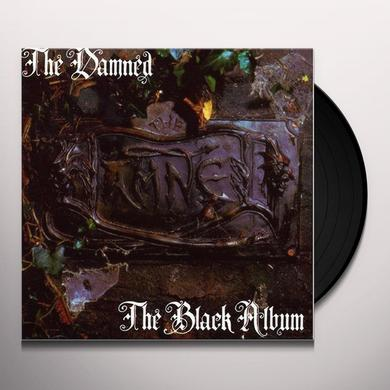 Damned BLACK ALBUM  (HCVR) Vinyl Record - Deluxe Edition