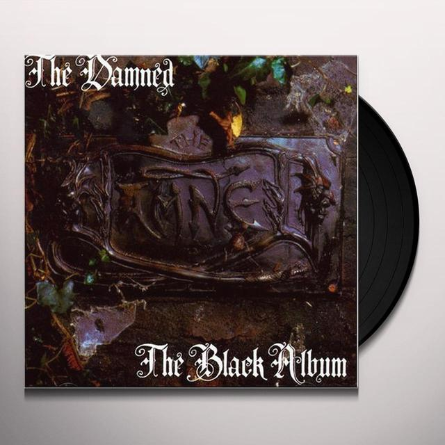 Damned BLACK ALBUM Vinyl Record