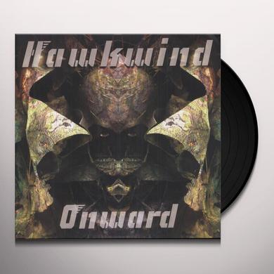 Hawkwind ONWARD Vinyl Record - Gatefold Sleeve