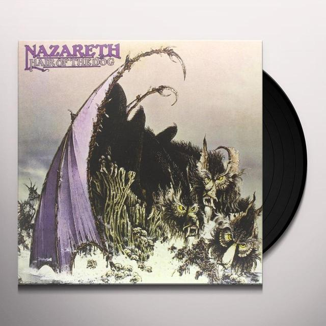 Nazareth HAIR OF THE DOG Vinyl Record - Gatefold Sleeve