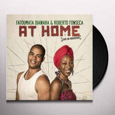 Roberta Fonseca / Fatoumata Diawara AT HOME Vinyl Record - 10 Inch Single, 180 Gram Pressing, Digital Download Included