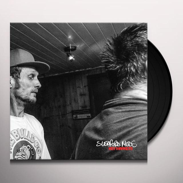 Sleaford Mods KEY MARKETS Vinyl Record - Gatefold Sleeve