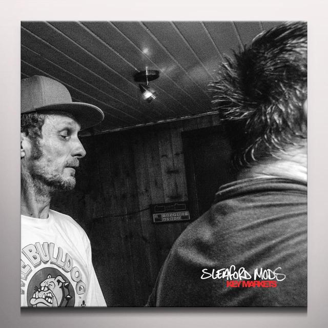 Sleaford Mods KEY MARKETS Vinyl Record - Colored Vinyl, Gatefold Sleeve, Green Vinyl, Limited Edition