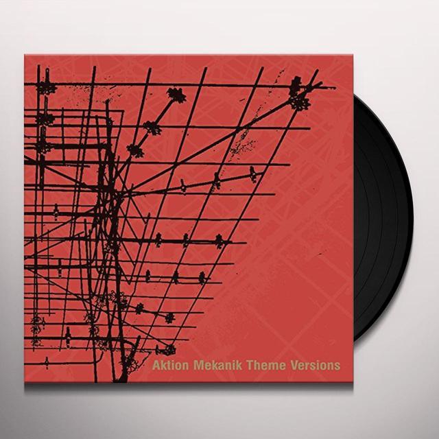 Terence Fixmer AKTION MEKANIK THEME VERSIONS Vinyl Record