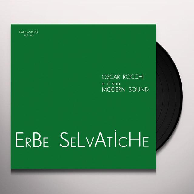 Oscar E Il Suo Modern Sound Rocchi ERBE SELVATICHE Vinyl Record
