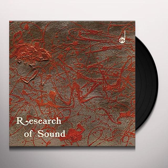 Puccio Roelens RESEARCH OF SOUND Vinyl Record