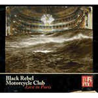 Black Rebel Motorcycle Club LIVE IN PARIS Vinyl Record