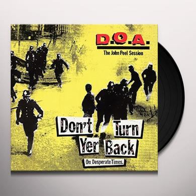 Doa DON'T TURN YER BACK (ON DESPERATE TIMES) Vinyl Record