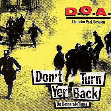 Doa DON'T TURN YER BACK (ON DESPERATE TIMES) Vinyl Record