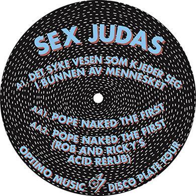 SEX JUDAS OPTIMO DISCO PLATE 4 Vinyl Record