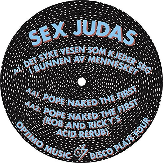 SEX JUDAS OPTIMO DISCO PLATE 4 Vinyl Record