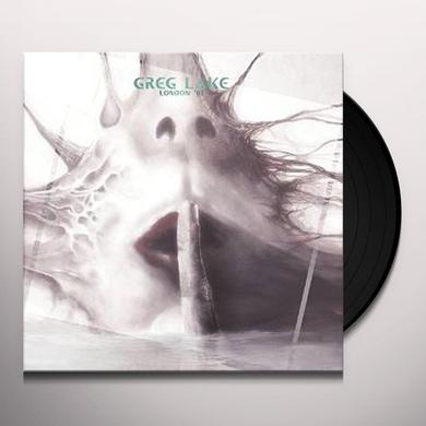 Greg Lake LONDON 81 Vinyl Record