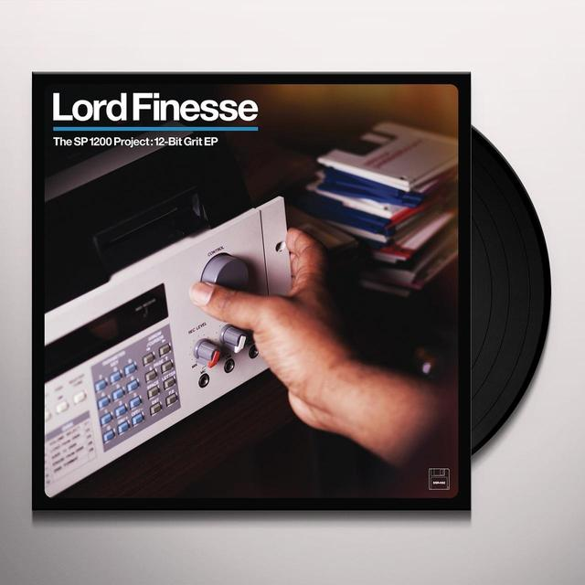 Lord Finesse SP1200 PROJECT: 12-BIT GRIT Vinyl Record