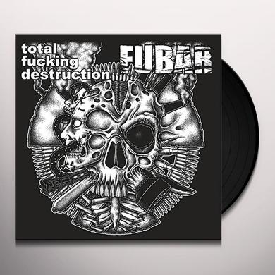 TOTAL FUCKING DESTRUCTION / FUBAR SPLIT Vinyl Record