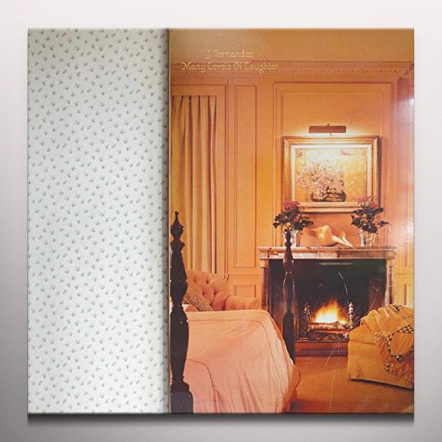 J Fernandez MANY LEVELS OF LAUGHTER Vinyl Record - Clear Vinyl
