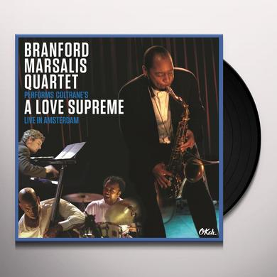 Branford Marsalis Quartet COLTRANE'S A LOVE SUPREME: LIVE IN AMSTERDAM 2003 Vinyl Record